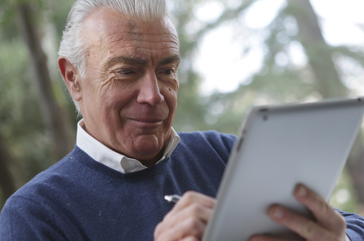 Seniors embracing Technologies